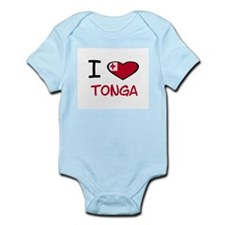 Cute Tonga Infant Bodysuit
