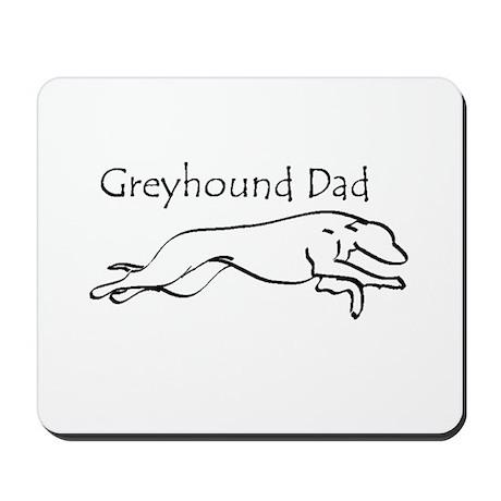 Greyhound Dad Mousepad