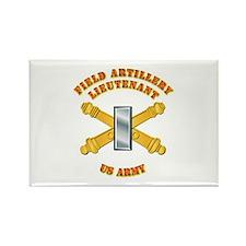 Artillery - Officer - 1st Lt Rectangle Magnet