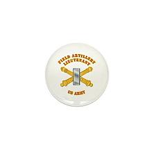 Artillery - Officer - 1st Lt Mini Button (100 pack