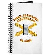 Artillery - Officer - 1st Lt Journal