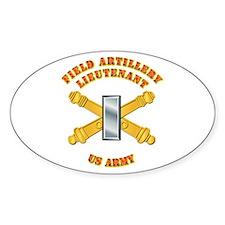Artillery - Officer - 1st Lt Decal