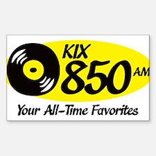 Cute Radio station Sticker (Rectangle)