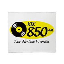 Unique Radio station Throw Blanket