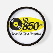 Funny Radio station Wall Clock