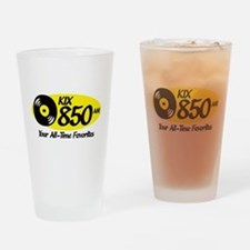 Unique Radio stations Drinking Glass