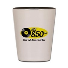 Cute Am radio Shot Glass