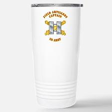 Artillery - Officer - Captain Travel Mug