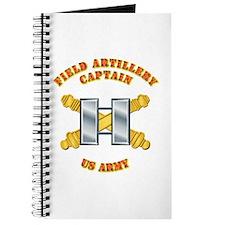 Artillery - Officer - Captain Journal