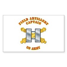 Artillery - Officer - Captain Decal