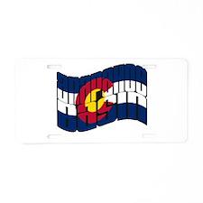 Arapahoe Basin CO Flag Aluminum License Plate
