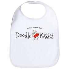 Doodle Kisses Bib