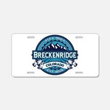Breckenridge Ice Aluminum License Plate