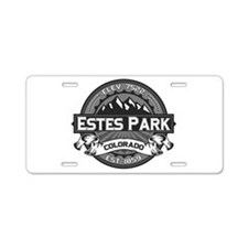 Estes Park Grey Aluminum License Plate