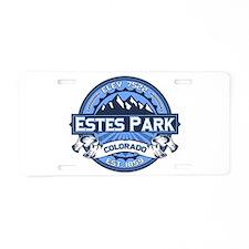 Estes Park Blue Aluminum License Plate