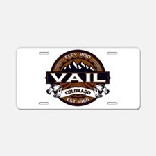 Vail Vibrant Aluminum License Plate