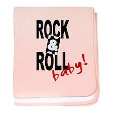 'Rock & Roll Baby!' baby blanket