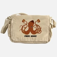 Free Hugs Squid Messenger Bag