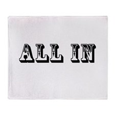 All In Throw Blanket