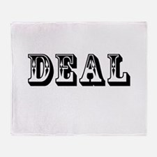 Deal Throw Blanket