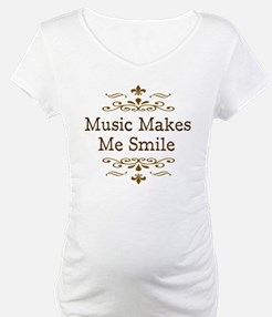 'Music Makes Me Smile' Shirt