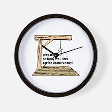 Death Penalty Wall Clock