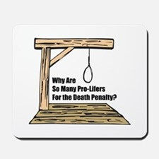Death Penalty Mousepad