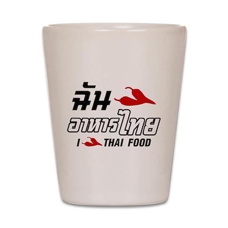 I Chili (Love) Thai Food Shot Glass