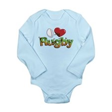 Rugby Long Sleeve Infant Bodysuit