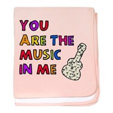 'The Music In Me' baby blanket
