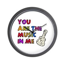 'The Music In Me' Wall Clock