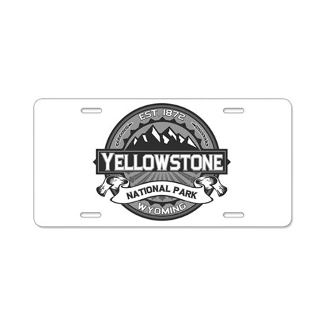 Yellowstone Ansel Adams Aluminum License Plate