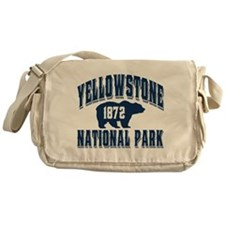 Yellowstone Old Style Blue Messenger Bag