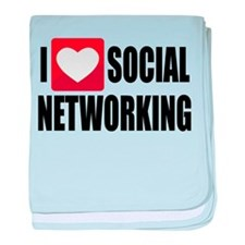 Social Networking baby blanket