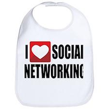 Social Networking Bib