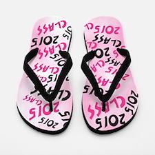 Class of 2015 PINK Flip Flops
