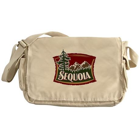 Sequoia Mountains Messenger Bag