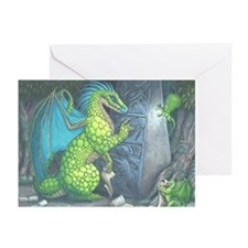 Zachtos Dragon Greeting Cards (Pk of 10)
