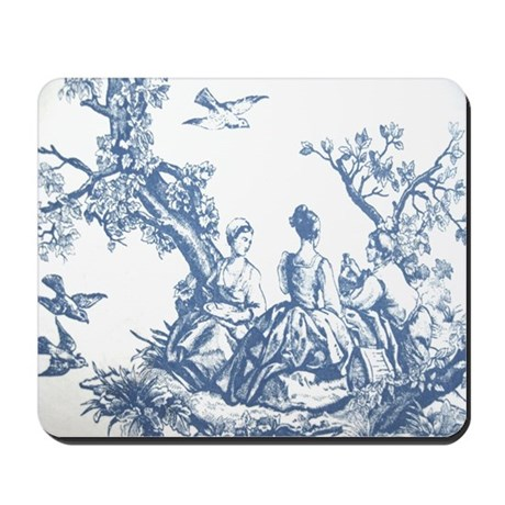 FRENCH TOILE Mousepad