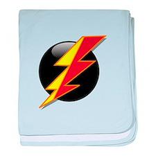 Flash Bolt baby blanket