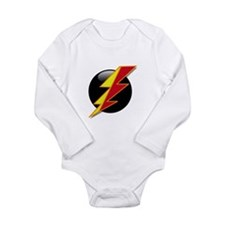Flash Bolt Long Sleeve Infant Bodysuit