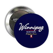 """Winnipeg Script 2.25"""" Button"""