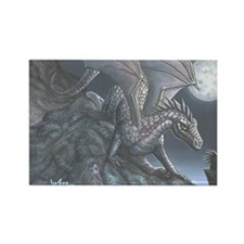 Blackwind Dragon Rectangle Magnet