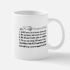 Greyhound FAQ Mug