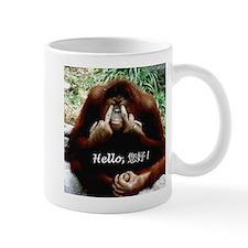 Chinese Funny Ape Small Mug