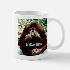 Chinese Funny Ape Small Small Mug