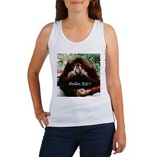 Chinese Funny Ape Women's Tank Top