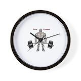 Deadlift Wall Clocks