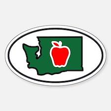 Washington State Apple Decal
