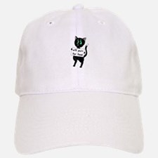Will Purr For Food Baseball Baseball Cap